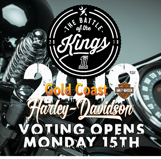 VOTING OPENS MONDAY 15TH JULY 2019