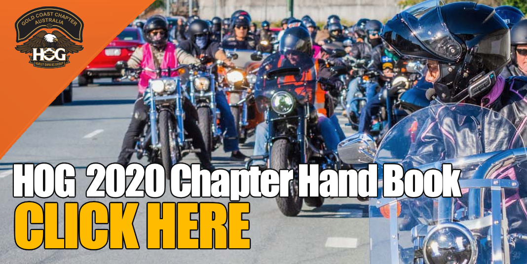 HOG CHAPTER HANDBOOK 2020 Available here