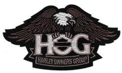 Harley Owners Group Eagle & Shield