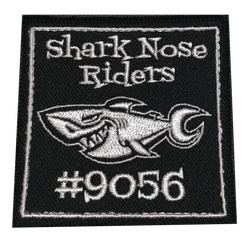 9056 Shark Nose Rider Patch