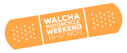 Walcha Motorcycle Weekend Patch
